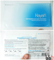 hayan whitening mask sheet for woman