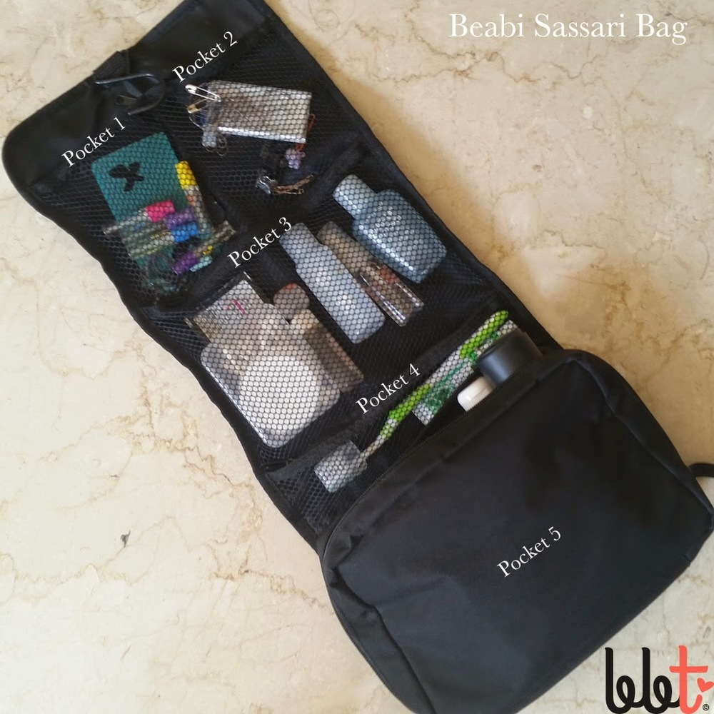 beabi sassari bag rollup caddybag travel
