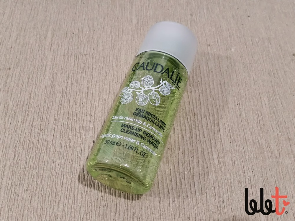 caudalie makeup remover cleansing water review