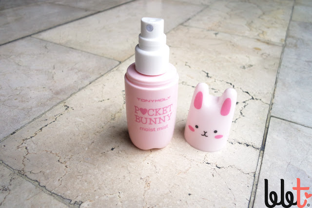 tony moly pocket bunny mist pink moist