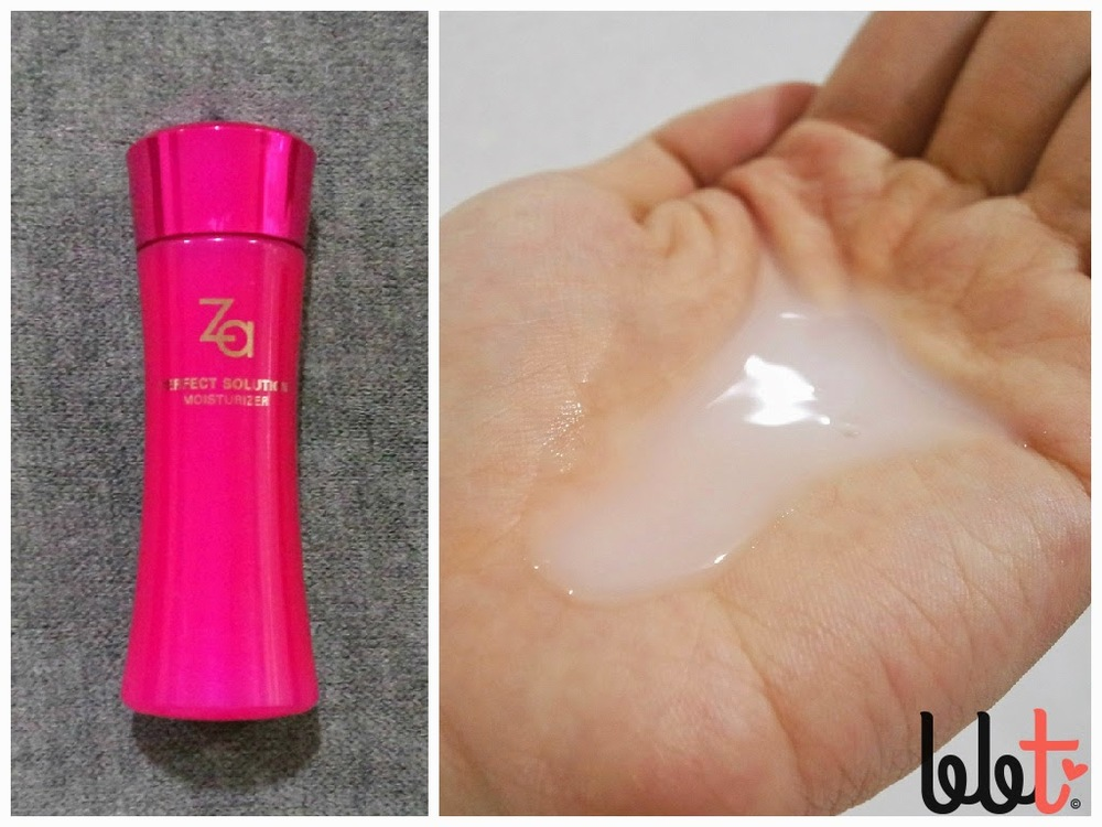 Za Perfect Solution Moisturizer