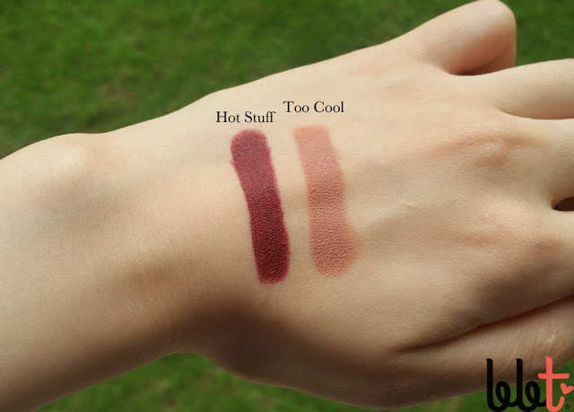 Preview x Happy Skin Shut Up & Kiss Me Moisturizing Matte Lippie Set swatches