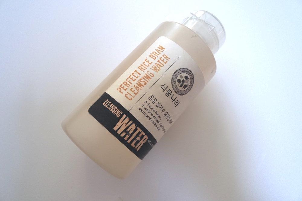 식물나라 꼼꼼 쌀겨수 클렌징 워터, KRW 10500 (sale from 15800) / 510 ml Sikmulnara Perfect Rice Bran Cleansing Water