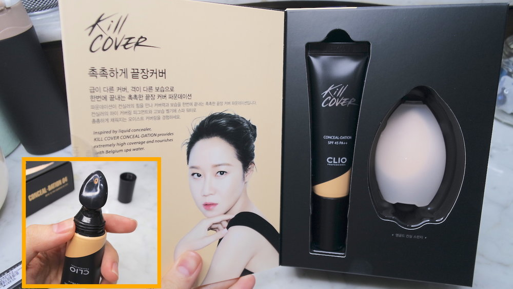 clio kill cover conceal-dation