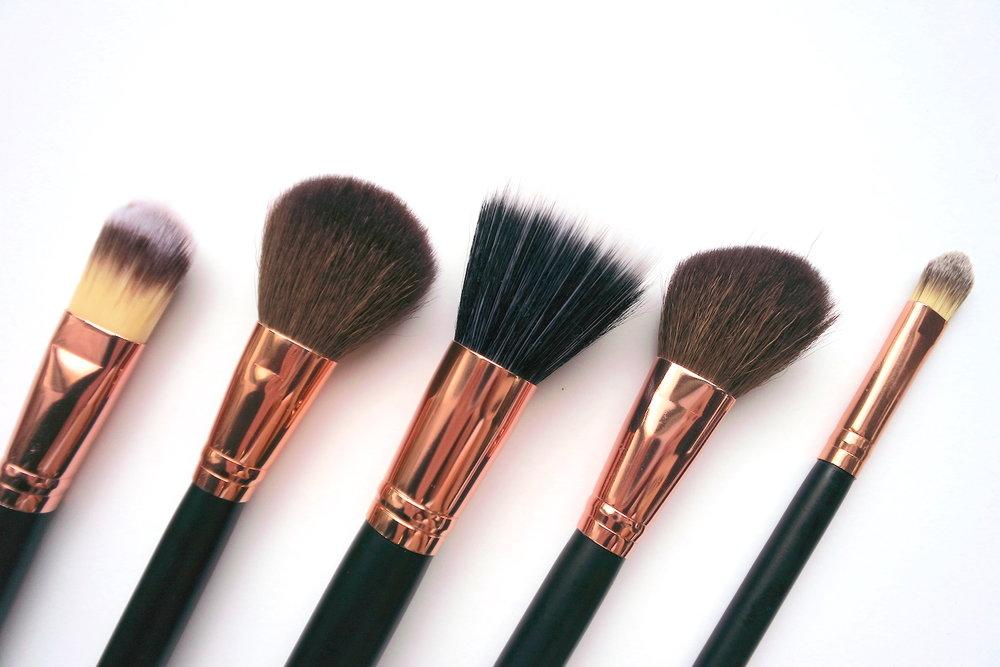 charm travel pro set suzie edition face brushes