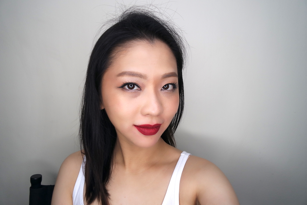 ellana lip in luxe matte liquid lipstick love is pure
