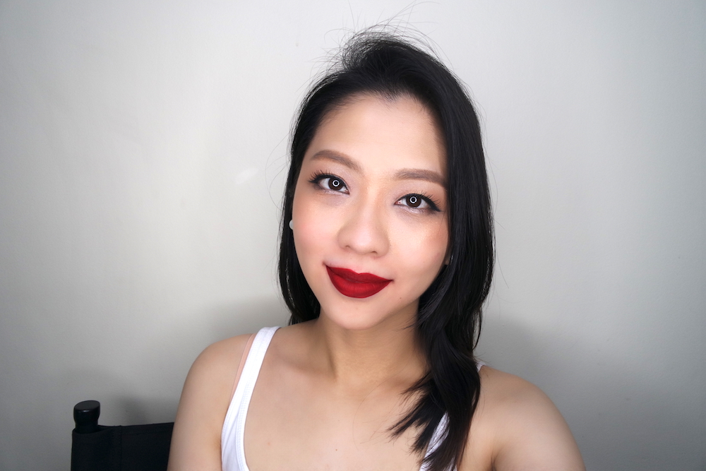 ellana lip in luxe matte liquid lipstick love is true