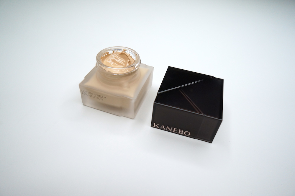 kanebo luster cream foundation in oc-b