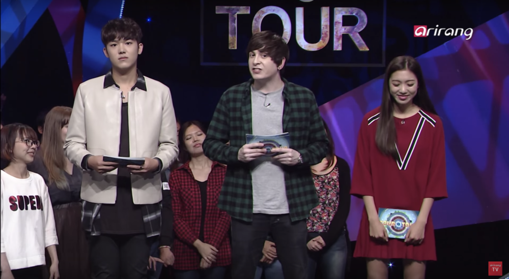 Me as audience Tour vs Tour S01E14 produced by Arirang starring Benji, Dave and Tina