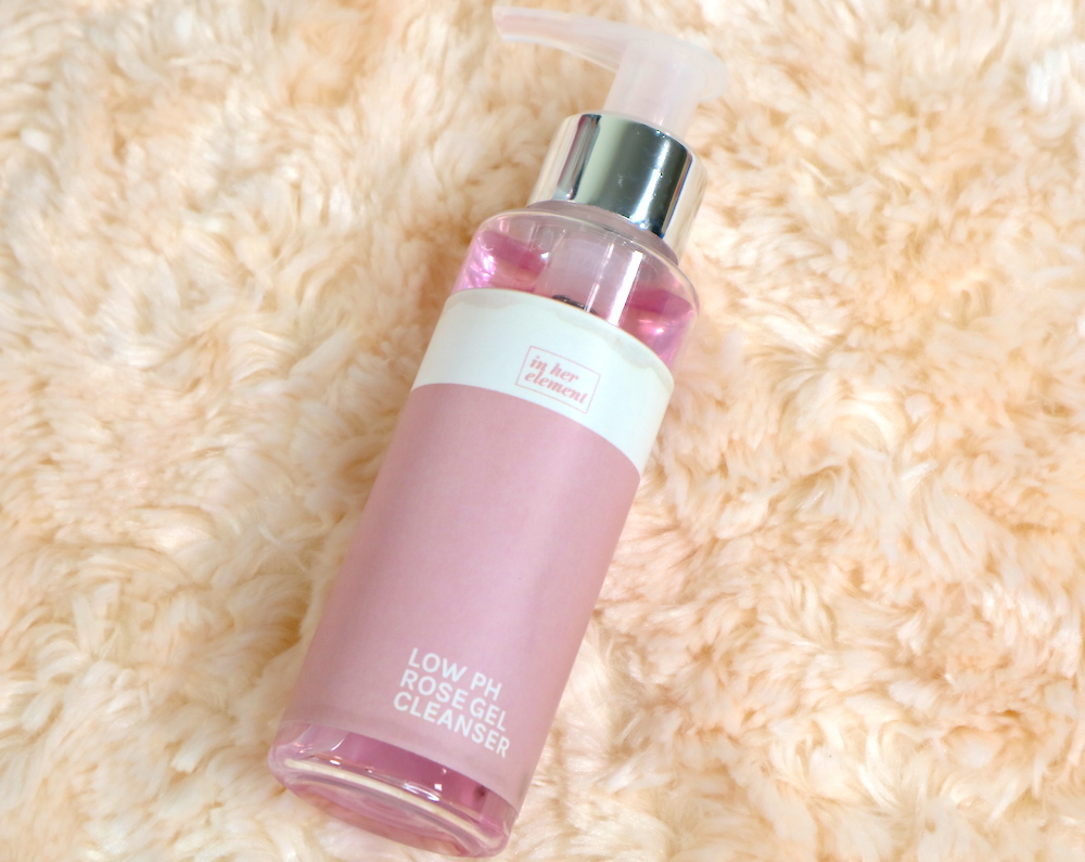 in her element low pH rose gel cleanser review philippines