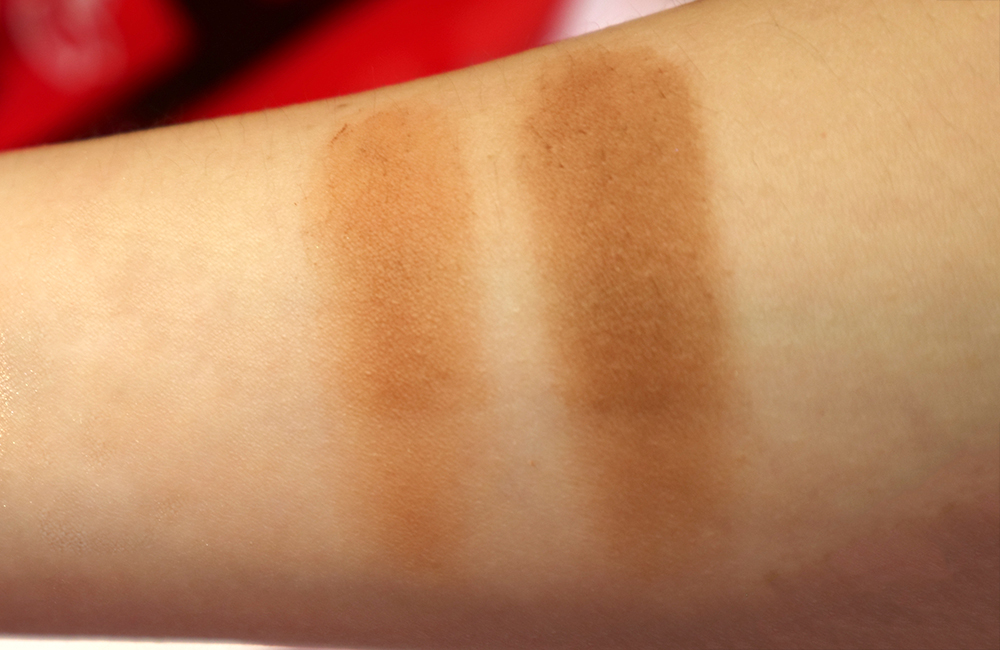 vice cosmetics aura collection contour swatches porsyur, confeerm