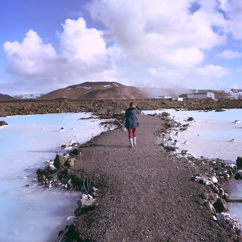 Pathway between the Blue Lagoon and Silica Hotel