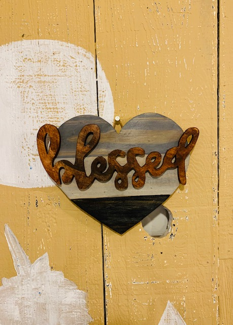 Heart ($25) + Blessed ($7)
