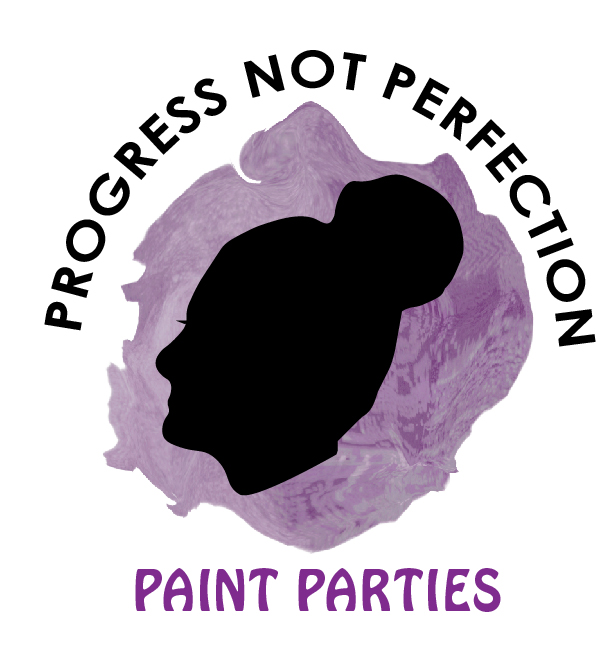 Progress Not Perfection Paint Party