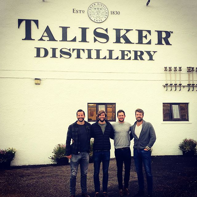 A couple of great days spent on the Isle of Skye where we were lucky to get a private tour of the Talisker Whisky distillery. We got behind the scenes and tasted some of their magic blends and also managed to squeeze in some swimming, kayaking and hiking. If you've never been up this neck of the woods before - it's well, well worth the visit! . . . #talisker #taliskerwhiskyatlanticchallenge #diagio #thefouroarsmen #spinalresearch #mind #whisky  #outdoors #swimming #hiking #kayaking #isleofskye