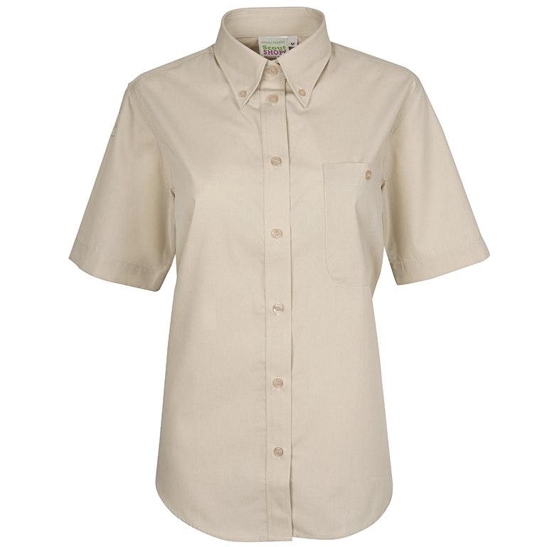Short Sleeve Uniform Blouse