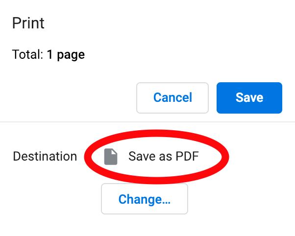 Option 2 - PDF