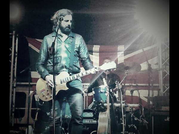 Italian Rock God, Omar Pedrini, Plays The Water Rats, London, in a JV between EBPR & Plastic Monkey
