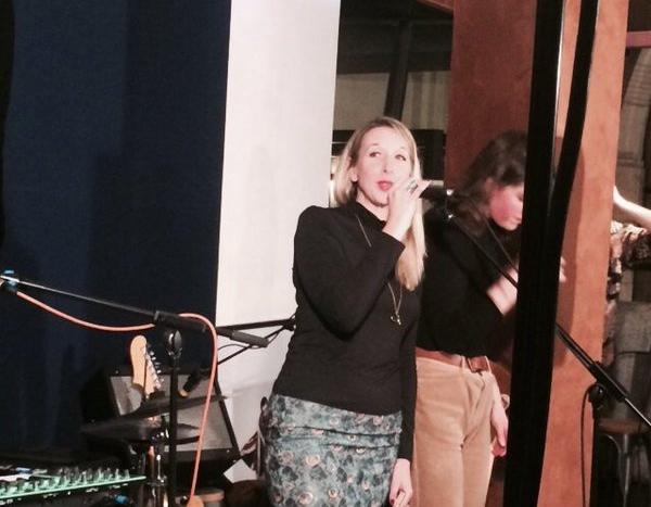 Emma Presenting Metropolis Sessions at Metropolis Studios
