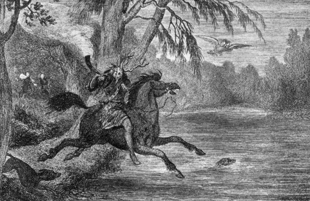 'Herne the Hunter' ~ George Cruikshank