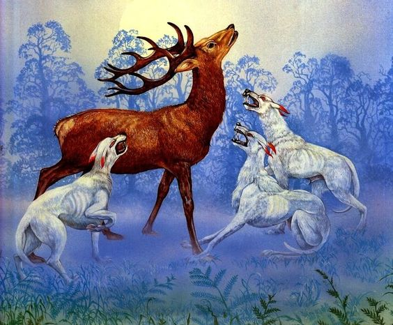 (Celtic Fairy Hounds - Cwn Annwn) ~ Roger Garland