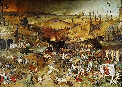 'The Triumph of Death' ~ Pieter Brueghel the Elder (Prado Museum)