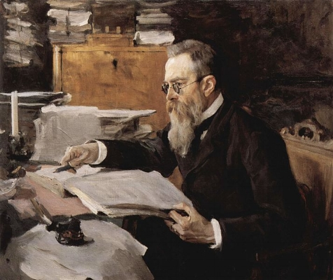 Rimsky-Korsakov ~ Valentin Serov