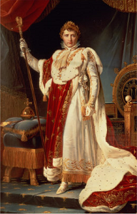 'Napoleon in Coronation Robes' ~ Francois Gérard