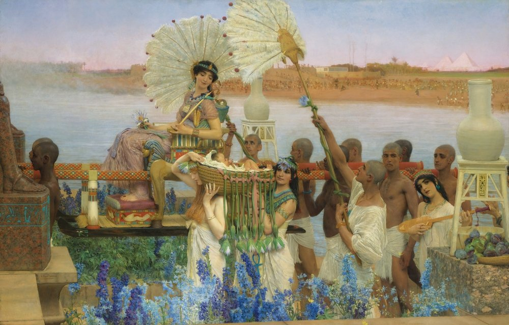'The Finding of Moses' ~ Sir Lawrence Alma-Tadema
