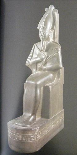 Osiris seated