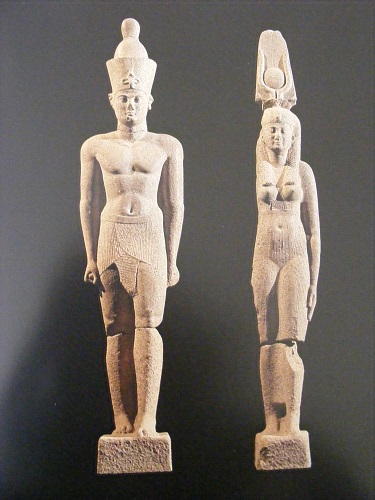 Statues of Ptolemaic king and queen, Thonis-Heracleion