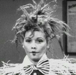The incomparable Lucille Ball