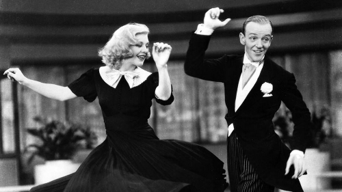 Fred Astaire and Ginger Rogers, one of my favourite dance couples