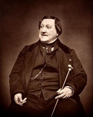 Rossini ~ Étienne Carjat, 1865