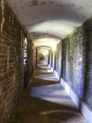 (Air raid shelter under Cardiff Castle)