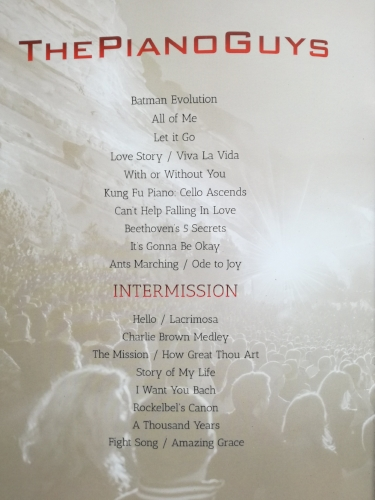 Programme playlist