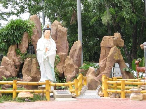 At Kuan Yin temple