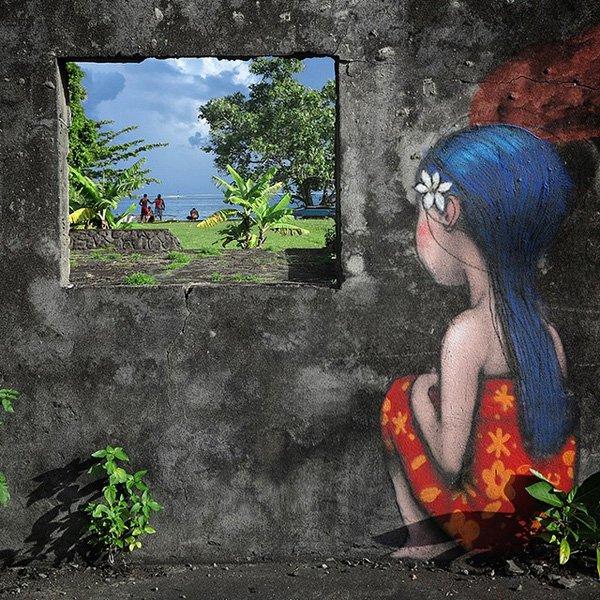 'Tahiti Nui' - Seth Globepainter