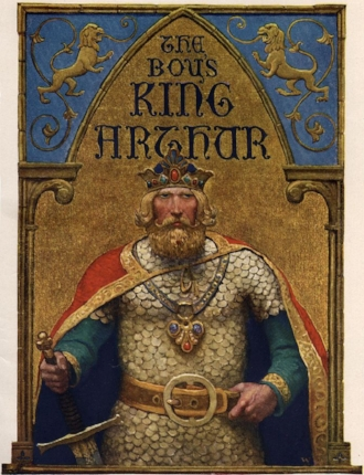 'The Boy's King Arthur' title page
