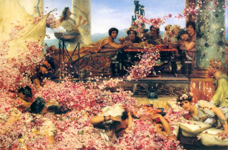 'The Roses of Heliogabalus' (1888)