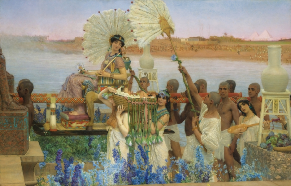 'The Finding of Moses' (1904)
