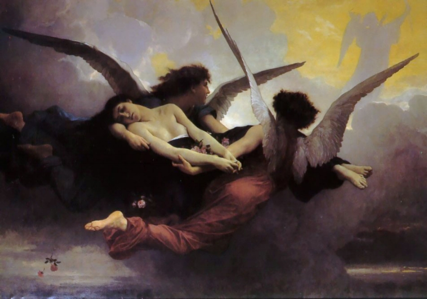 'Soul Carried to Heaven' (1878)