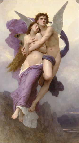 'Le ravissement de Psyche' (1895)
