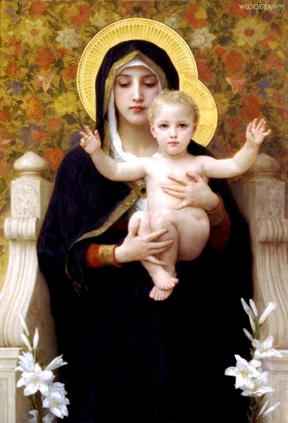 'La Vierge au lys' (1899)