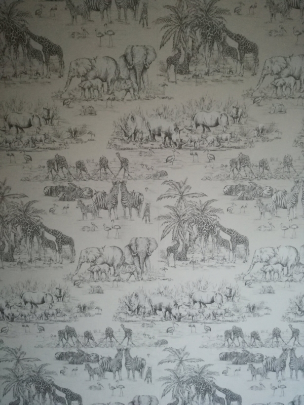 Here's a closer view of the wallpaper