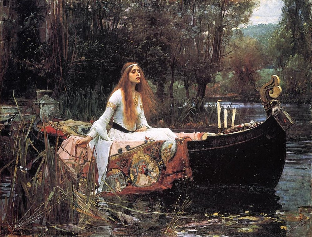 'The Lady of Shalott' ~ John William Waterhouse