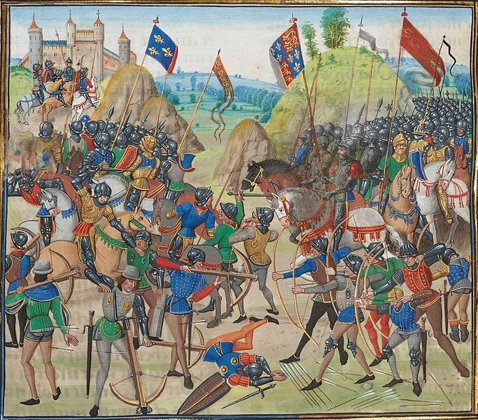 'The Battle of Crécy' ~ Jean Froissart