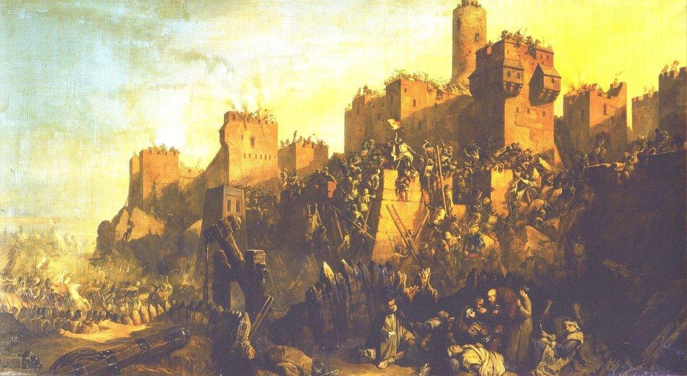 (Jerusalem 1299) ~ Claude Jacquand