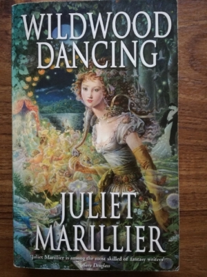 ' Wildwood Dancing ' by Juliet Marillier is yet another take on ' The 12 Dancing Princesses '. I love the cover by Kinuko Craft.