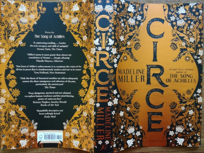 'Circe' - dust jacket